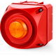 ADS-T многотональная сирена со встроенным светодиодным индикатором Оранжевый 24-48 V AC/DC