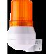 KDL мини-гудок - сигнальный маячок Оранжевый 48 V AC