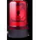 MRL проблесковый маячок с вращающимся зеркалом Красный Горизонтальный, 110-120 V AC