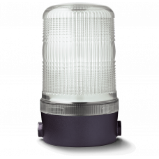 MBM проблесковый маячок Белый горизонтальный, 24 V AC/DC
