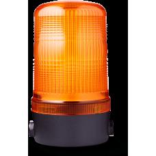 MLS маячок постоянного света Оранжевый горизонтальный, 24 V AC/DC
