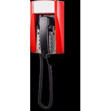 dFT3 взрывозащищенный аналоговый телефон Красный Спиральный шнур, Без дисплея