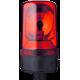 MRS проблесковый маячок с вращающимся зеркалом Красный 24 V AC/DC, Трубка D 25 мм