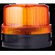 BLG светодиодный проблесковый маячок Оранжевый черный, 24 V AC/DC