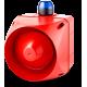 ADX многотональная сирена со встроенным светодиодным индикатором Синий 110-120 V AC