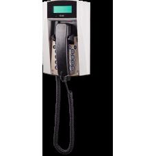 dFT3 взрывозащищенный аналоговый телефон Серый С дисплеем, Спиральный шнур