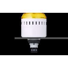 ELG сирена с креплением на панели с контрольным светодиодом Желтый серый, 12 V AC/DC