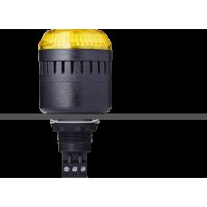 ELM сирена с креплением на панели с контрольным светодиодом Желтый 24 V AC/DC, черный