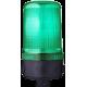 MLS маячок постоянного света Зеленый 24 V AC/DC, Трубка D 25 мм