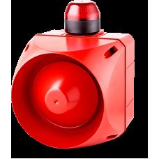 ACL многотональная сирена со встроенным светодиодным индикатором Красный 110-120 V AC