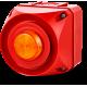 ADS-P многотональная сирена со встроенным светодиодным индикатором Оранжевый 24 V AC/DC