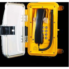 Телефон Wind INDUSTRY С клавиатурой, Прозрачная, с визуальным отображением вызова