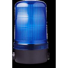 MBL проблесковый маячок Синий 230-240 V AC, горизонтальный