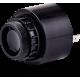 ESZ звуковой сигнализатор с креплением на панели Черный Плоский разъем, 230-240 V AC