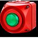 ADS-T многотональная сирена со встроенным светодиодным индикатором Зеленый 24-48 V AC/DC