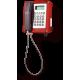 wST-IP VoIP телефон, всепогодный Красный С релейным контактом, С коммутационным модулем LAN