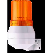 KDF мини-гудок - стробоскопический маячок Оранжевый 24 V DC