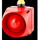 ADX многотональная сирена со встроенным светодиодным индикатором Желтый 110-120 V AC