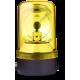 MRL проблесковый маячок с вращающимся зеркалом Желтый 24 V AC/DC, Горизонтальный