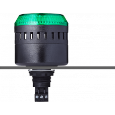 EDG сирена с креплением на панели с контрольным светодиодом Зеленый черный, 230-240 V AC