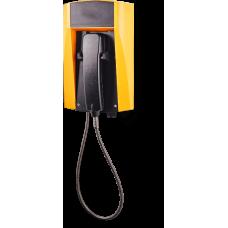 wFT3 аналоговый телефон, всепогодный Желтый Армированный шнур, Без дисплея, Без клавиатуры