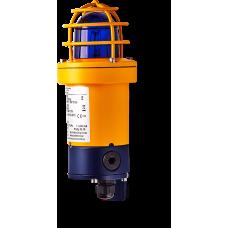 dSF взрывозащищенный ксеноновый стробоскопический маячок Синий 15 Дж, 110-120 V AC