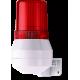 KDL мини-гудок - сигнальный маячок Красный 24 V AC