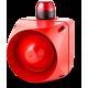 ACL многотональная сирена со встроенным светодиодным индикатором Красный 230-240 V AC
