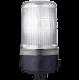 MLL маячок постоянного света Белый 24 V AC/DC, Трубка D 25 мм