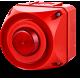 ADS-T многотональная сирена со встроенным светодиодным индикатором Красный 24-48 V AC/DC