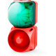 Комбинированный свето-звуковой оповещатель ASL+QBL Зеленый 24-48 V AC/DC, 24-48 V AC/DC