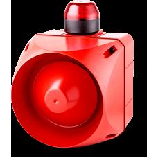 ACL многотональная сирена со встроенным светодиодным индикатором Красный 24 V AC/DC