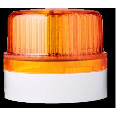 DLG светодиодный маячок постоянного света Оранжевый серый, 24 V AC/DC