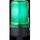 MLL маячок постоянного света Зеленый 24 V AC/DC, Трубка D 25 мм