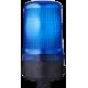 MBM проблесковый маячок Синий 24 V AC/DC, Трубка D 25 мм
