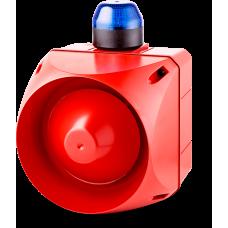 ACL многотональная сирена со встроенным светодиодным индикатором Синий 110-120 V AC