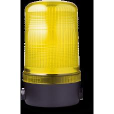 MLL маячок постоянного света Желтый 230-240 V AC, горизонтальный
