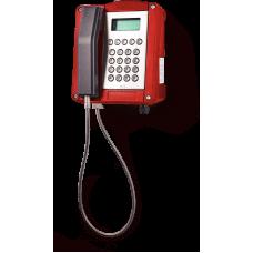wST аналоговый телефон, всепогодный Красный С клавиатурой