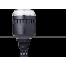 EDM сирена с креплением на панели с контрольным светодиодом Белый черный, 230-240 V AC