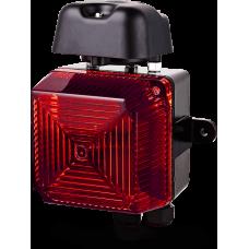 Аудиовизуальный сигнальный оповещатель для звонка VS1 Красный