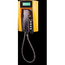 wFT3 аналоговый телефон, всепогодный Желтый Армированный шнур, С клавиатурой, С дисплеем
