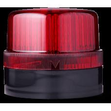 DLG светодиодный маячок постоянного света Красный черный, 24 V AC/DC