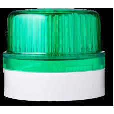 DLG светодиодный маячок постоянного света Зеленый 110-120 V AC, серый